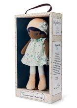 Hadrové panenky - Panenka pro miminka Manon K Tendresse Kaloo 32 cm v hvězdičkových šatech z jemného textilu v dárkovém balení od 0 měsíců_1