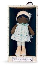 Hadrové panenky - Panenka pro miminka Manon K Tendresse Kaloo 32 cm v hvězdičkových šatech z jemného textilu v dárkovém balení od 0 měsíců_0