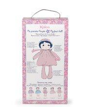 Hadrové panenky - Panenka pro miminka Perle K Tendresse Kaloo v bílých šatech v dárkovém balení 32 cm od 0 měsíců_7