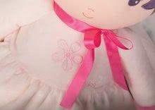Hadrové panenky - Panenka pro miminka Perle K Tendresse doll XXL Kaloo 80 cm v bílých šatech z jemného textilu od 0 měsíců_2