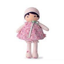 Bábika pre bábätká Fleur K Tendresse Kaloo 40 cm v kvetinkových šatách z jemného textilu v darčekovom balení K962087