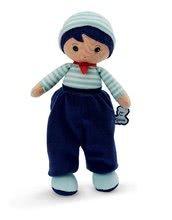 Bábika pre bábätká Eliot K Tendresse Kaloo 25 cm v semišových nohaviciach z jemného textilu v darčekovom balení od 0 me