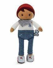 Bábika pre bábätká Lucas K Tendresse Kaloo 25 cm v riflových nohaviciach z jemného textilu v darčekovom balení od 0 me