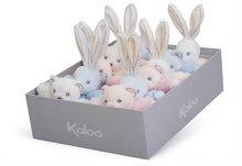 Hračky pre bábätká - Plyšový zajačik Perle-Mini Chubbies Rabbit Kaloo 12 cm pre najmenších krémový_2