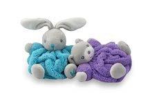 Plyšové medvede - Plyšový medvedík Plume-Mini Neon Kaloo 12 cm pre najmenších fialový_2