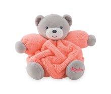 Ursuleţ de pluş Chubby Neon Kaloo 18 cm portocaliu în ambalaj de cadou pentru cei mai mici