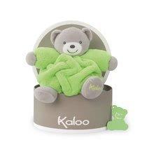 Plyšové medvede - Plyšový medveď Chubby Neon Kaloo 18 cm v darčekovom balení pre najmenších zelený_0