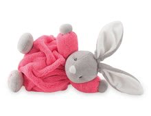 Plyšový zajačik Chubby Neon Kaloo 18 cm v darčekovom balení pre najmenších ružový