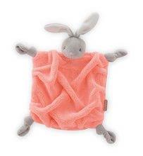 Plyšový zajačik na maznanie Neon Doudou Kaloo 20 cm v darčekovom balení pre najmenších oranžový