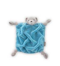 Hračky na maznanie a usínanie - Plyšový medveď na maznanie Neon Doudou Kaloo 20 cm v darčekovom balení pre najmenších modrý_0