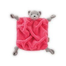 Plyšový medveď na maznanie Neon Doudou Kaloo 20 cm v darčekovom balení pre najmenších ružový