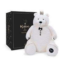 Ursuleț de pluș cu coroană regească Prince of Cuddles Kaloo 60 cm în cutie de cadou