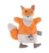 Plyšová liška loutkové divadlo Nop Nop-Yummy Fox Doudou Kaloo 25 cm z jemného měkkého plyše pro nejmenší