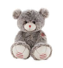 plyšový medveď ROUGE KALOO LARGE 38 cm krémovo-šedý z jemného plyšu pre najmenšie deti 962754