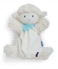 Plyšová ovečka bábkové divadlo Les Amis-Vanille Agneau Doudou Kaloo 30 cm pre najmenších