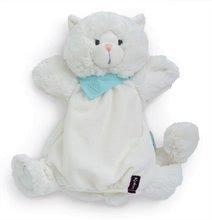 Plüss cica kesztyűbáb Les Amis-Coco Chaton Doudou Kaloo 30 cm legkisebbeknek