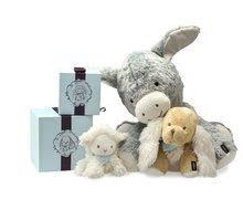 Plyšové zvieratká - Plyšová ovečka Vanille Les Amis-Agneau Kaloo 19 cm v darčekovom balení pre najmenších_2