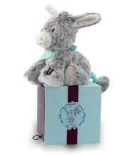 Plyšové zvieratká - Plyšový somárik Les Amis-Régliss' Anon Kaloo spievajúci 25 cm v darčekovom balení pre najmenších_0