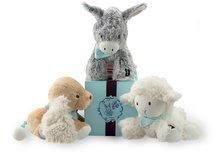 Plyšové zvieratká - Plyšový somárik Les Amis-Régliss' Anon Kaloo spievajúci 25 cm v darčekovom balení pre najmenších_2