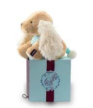 Plyšové zvieratká - Plyšový psík Les Amis-Caramel Chien Kaloo spievajúci 25 cm v darčekovom balení pre najmenších_0