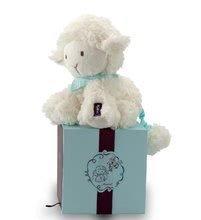 Plyšové zvieratká - Plyšová ovečka Les Amis-Vanille Lamb Kaloo spievajúca 25 cm v darčekovom balení pre najmenších_0