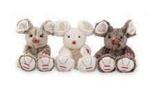 Plyšové zvieratká - Plyšová myška Rouge Kaloo 19 cm pre najmenších hnedá_0