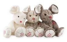 Plyšové a textilní hračky - Plyšová myška Rouge Kaloo 31cm pro nejmenší hnědá_0