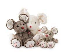 Plyšové a textilní hračky - Plyšová myška Rouge Kaloo 31cm pro nejmenší hnědá_1