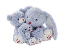 Hračky pro miminka - Plyšový zajíc Rouge Kaloo Small 19 cm z jemného plyše modro-krémový_3