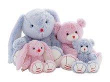 Hračky pro miminka - Plyšový zajíc Rouge Kaloo Small 19 cm z jemného plyše modro-krémový_2