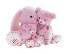 Hračky pro miminka - Plyšový zajíc Rouge Kaloo Small 13 cm z jemného plyše pro nejmenší děti růžovo-krémový_4