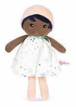 Bábika pre bábätká Manon K Doll Tendresse Kaloo 18 cm v hviezdičkových šatách z jemného textilu v darčekovom balení od 0 me