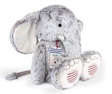 Plyšové a textilní hračky - Plyšový slon Noa Elephant Grey XL Rouge Kaloo šedý 55 cm z jemného materiálu pro nejmenší od 0 měsíců_0