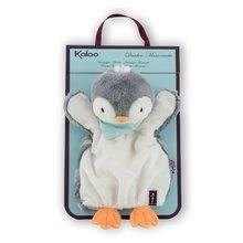 Bábky pre najmenších - Plyšový tučniak bábkové divadlo Les Amis-Penguin Doudou Kaloo 30 cm pre najmenších_1