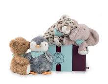 Plyšové medvede - Plyšový medveď Miel Les Amis-Ourson Kaloo 25 cm v darčekovom balení pre najmenších_1