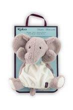 Bábky pre najmenších - Plyšový slon bábkové divadlo Les Amis-Elephant Doudou Kaloo 30 cm pre najmenších_1