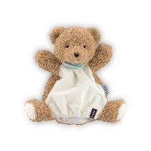 Kaloo bábková plyšová maňuška medveď Les Amis-Ourson Doudou 969322 hnedý