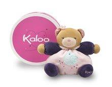 Plyšové medvede - Plyšový medvedík Petite Rose-Friendly Chubby Bear Kaloo 18 cm v darčekovom balení pre najmenších ružový_0