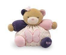 Kaloo plyšový macko Petite Rose-Chubby Bear Butterfly 969862 ružový
