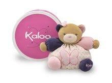 Plyšové medvede - Plyšový medvedík Petite Rose-Chubby Bear Butterfly Kaloo 18 cm v darčekovom balení pre najmenších ružový_0