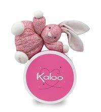 Hračky pre bábätká - Plyšový zajačik Petite Rose-Chubby Rabbit Kaloo 18 cm v darčekovom balení pre najmenších ružový_1