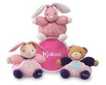 Plyšové medvede - Plyšový medvedík Petite Rose-Friendly Chubby Bear Kaloo 18 cm v darčekovom balení pre najmenších ružový_1