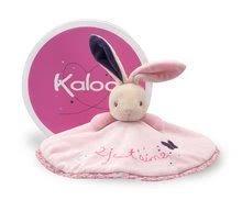 Hračky na maznanie a usínanie - Plyšový zajačik Petite Rose-Round Doudou Rabbit Love Kaloo 20 cm v darčekovom balení pre najmenších_0