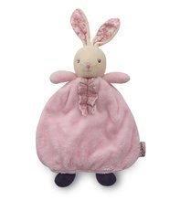Iepuraş de pluş pentru dormit Petite Rose-Doudou Girly Rabbit Kaloo 20 cm în ambalaj de cadou pentru cei mai mici