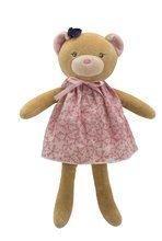 Ursuleţ de pluş păpuşă în rochiţă Petite Rose-Bear Doll Kaloo 28 cm în cutie de cadou pentru cei mai mici