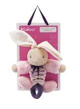 Hračky nad postieľku - Plyšový zajačik Petite Rose-Zig Music Rabbit Kaloo spievajúci naťahujúci 32-42 cm pre najmenších_0
