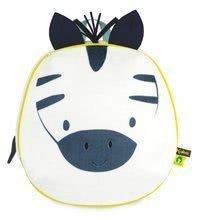 Batoh Zebra My Cuddle Backpack Home Kaloo so zipsom 26*25 cm pre deti od 2 rokov