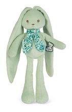 Bábika zajačik s dlhými uškami Doll Rabbit Aqua Lapinoo Kaloo zelený 25 cm z jemného materiálu v darčekovej krabičke od 0 me