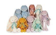 Hračky pro miminka - Panenka zajíček s dlouhými oušky Doll Rabbit Cream Lapinoo Kaloo krémový 35 cm z jemného materiálu v dárkové krabičce od 0 měsíců_4
