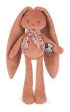 Bábika zajačik s dlhými uškami Doll Rabbit Terracotta Lapinoo Kaloo hnedý 25 cm z jemného materiálu v darčekovej krabičke od 0 me
